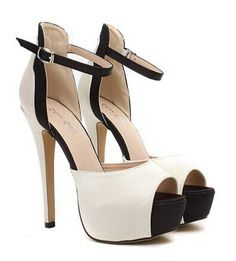 """Gorgeous Women's Sandals With Satin and Color Block Design Color: NUDE Size: 35, 36, 37, 38, 39, 40, 41, 42 Category: Shoes > Women's Shoes > Womens Sandals   Gender: For Women  Sandals Style: Ankle-Wrap  Closure Type: Buckle Strap  Shoe Width: Medium(B/M)  Pattern Type: Patchwork  Occasion: Party  Upper Material: Satin  Lining Material: PU  Style: Elegant  Weight: 1.3KG  Heel Height Range: Super High(Above4"""")  #cheapsandalsshoeswomen #cheapsandals #womensandals #sandals #bridgat.com"""