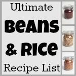The Ultimate Beans & Rice Recipe List (Linky Party