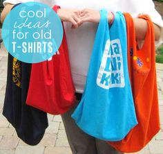 8 (More) Fun Ideas for Old T-Shirts