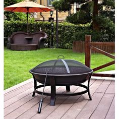 Windsor Outdoor Fire Pit for Fireplace and Patio Fire Pit Table, Diy Fire Pit, Fire Pits, Outdoor Fire, Outdoor Decor, Outdoor Living, Backyard Trampoline, Fire Pit Ring, Wood Burning Fire Pit