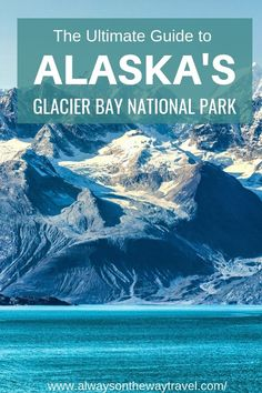 Your ultimate travel guide to Alaska's Glacier Bay National Park, from where to stay, beautiful places to see in the park, what clothes to wear and cruise trip tips. Alaska Travel, Alaska Cruise, Alaska Trip, Glacier Bay National Park, Us National Parks, Cruise Travel, Travel Usa, Glacier Bay Alaska, Visit Usa
