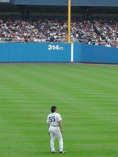Left fielder in 2004 New York Yankees, Mlb, Soccer, Base, Places, Modern, Football, Futbol, European Football