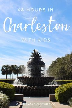 If you only have 2 days to visit Charleston, South Carolina with kids, this is how you should spend it! // Family Travel | Vacation Ideas | Southern US: