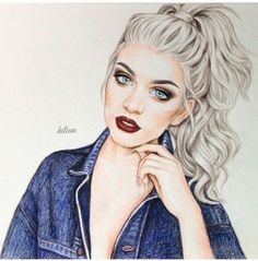 Image via We Heart It #art #beautiful #drawing #fashion #girly #love #nice #girly_m