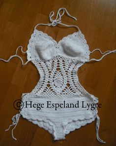 Crochet bathing suit