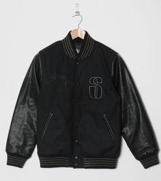 Buy StussyLetterman Varsity Jacket- Mens Fashion Online at Size?