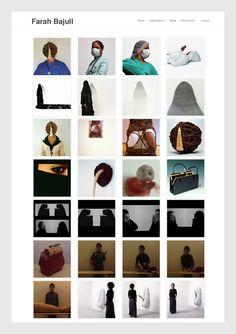 Farah Bajull Sculpture, installation and performance artist.