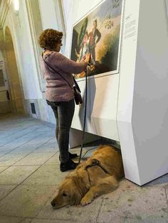 Museo El Prado - You can touch exhibition for the blind. Goya is part of the exhibition.