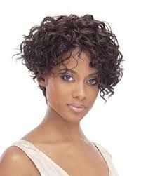 Image result for curly short bob