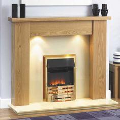 Oak fireplace surround.  http://www.worldstores.co.uk/p/GB_Mantels_Bromley_Veneer_Oak_Surround_in_Clear_Oak.htm