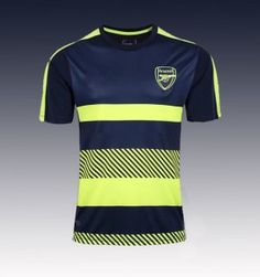 2017 Cheap Training Jersey Arsenal Black Replica Football Shirt [JFCB950]
