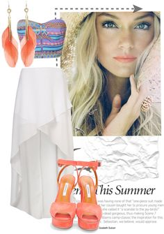 """""""summer is here"""" by educhess ❤ liked on Polyvore"""
