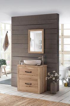 Het Country badmeubel 80 is voorzien van 2 softclose lades en gemaakt uit massief eikenhout. Het badmeubel heeft een eiken werkblad waarop een keramische opbouwkom is geplaatst. Uiteraard kunt u kiezen om hier ook een andere Van Heck waskom op te plaatsen, zodat u uw eigen unieke badmeubel samenstelt.   #vanheck #vanheckbadkamer #badkamer #eiken #hout #houtenmeubel #stoer #robuust #keramiek #bad #meubel #eikenhout #eikenhoutenmeubel #set #bathroom #heck #eikenmeubel #ijzer #greep #waskom… Bathroom Lighting, Vanity, Mirror, Country, Modern, Furniture, Design, Home Decor, Sink Tops
