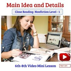Use the video as a teaching aid - or simply show the video DIRECTLY to your students, pausing at certain times while your students follow on with the steps given. The approach in the video is the:'I do - We do - You do' - Show the stages of a typical lesson.  ALL SLIDES shown in the video are offered as supplementary material FREE with this video AND links to the HIGHLY ENGAGING topic ' Should students listen to music while studying' is also provided.