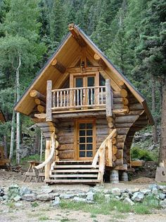 1000 Images About Mini Log Cabins On Pinterest Cabin