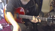 1961 Gibson ES-125 TCD (clean tone demo)