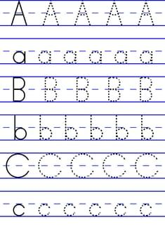 abc tracing printouts | Posted by Courtney D. Wright at 10:00 AM No ...