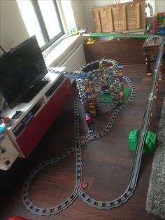 Duplo train tracks.....