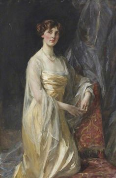 """Lady Marguerite Nevill"" (c. 1905) by Sir James Jebusa Shannon (1862-1923)."