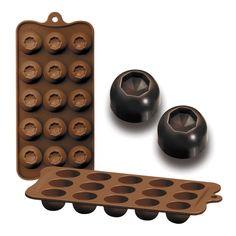 Bombón o chocolate Diam Chocolates, Forma Circular, Ice Tray, Silicone Molds, Sofa, Gourmet, Chocolate Molds, Shapes, Art