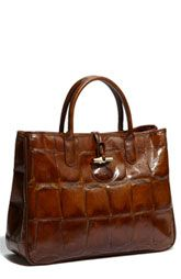 Longchamp Tortoise Embossed $490.00