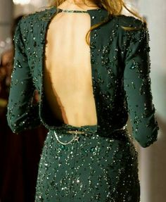 """Sophisticated and evergreen - glitter can be very glamour """" Backstage at Zuhair Murad Haute Couture Fall/Winter Paris Fashion Week. Pretty Dresses, Beautiful Dresses, Elegant Dresses, Gorgeous Dress, Beautiful Models, Style Haute Couture, Costume, Looks Style, Mode Inspiration"""