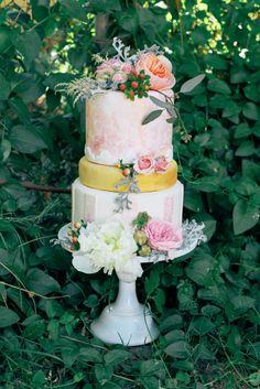 Watercolor Wedding Inspiration at Tremaine Ranch in Arizona