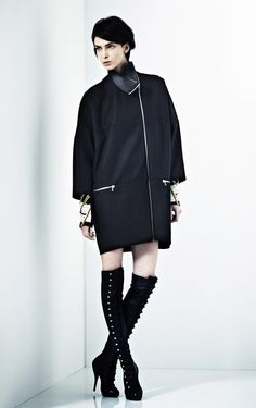 Kit Willow Featuring Christian Louboutin Over The Knee Boots. Fall/Winter 2012/13. London Fashion Week. 02.20.2012.