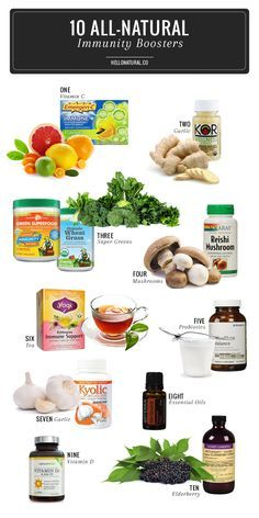 Fight Off the Crud with 10 All-Natural Immunity Boosters | http://hellonatural.co/fight-off-the-crud-with-11-all-natural-immunity-boosters/