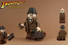 Henry Jones, Lego Indiana Jones, Film Blade Runner, Lego Minifigs, French Films, Custom Lego, Indie Movies, Film Quotes, Independent Films