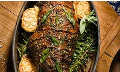 This classic roast dish combines lamb with its favourite flavour partners of rosemary and garlic. Stud the meat with slivers of garlic and sprigs of rosemary and enjoy the gorgeous aroma that fills the kitchen. Family Kitchen, All Vegetables, Kitchen Recipes, 4 Ingredients, Garlic, Roast Lamb, Food And Drink, Stuffed Peppers