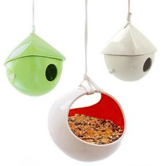 L studios // Beautiful Birdhouses & Feeders #productdesign