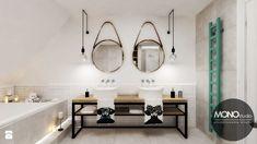 Łazienka w stylu skandynawskim - zdjęcie od MONOstudio - Łazienka - Styl Skandynawski - MONOstudio