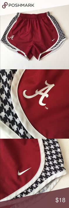 ROLL TIDE! Nike Dri-Fit Tempo Alabama. Small ROLL TIDE- Alabama-Nike Dri-Fit Tempo Shorts. Small. Flawless. Perfect for any Alabama fan! Nike Shorts