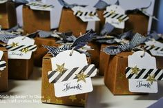 17 oktober 2014 Scraps'! by Diana: Stampin'Up! Tiny Treat Boxes