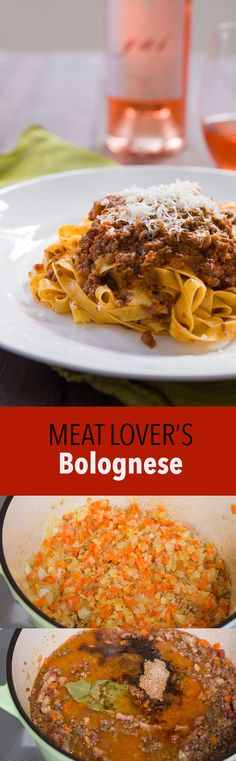 Ragù Alla Bolognese is a delightful slow-cooked meat sauce from Bologna that goes beautifully with some fresh tagliatelle.