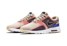 Nike Air Max Zero Women's Pink and Tan Colorway