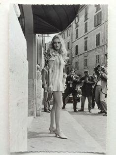 Brigitte Bardot Rome 1960 Hotel Forum