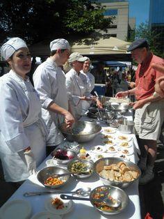 Culinary Students Participate at Lexington Farmer's Market   Sullivan University