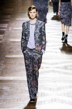 Dries Van Noten Fall 2013 #RTW #fashion #paris