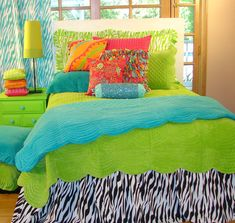 Solid colors with zebra print