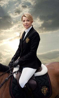 Edwina Alexander from the 2011 Gucci Equestrian Collection.