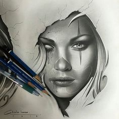 Check out this pencil drawing by @charles_laveso #supportartists #theartisthemotive .