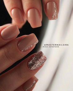 59 Beautiful Nail Art Design To Try This Season - long coffin nails glitter nails mixmatched nail art nail colors marble nail art nail polis nude nails Coffin Nails Glitter, Coffin Nails Long, Long Nails, Acrylic Nails, Short Nails, Nail Glitter Design, Nude Nails With Glitter, Matte Gel Nails, Stiletto Nails