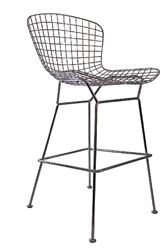 Contemporary metal bar stool from OfficeAnything.com for $153.99. This  unique stool is available