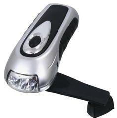 Elektriciteit durft 's nacht weleens uit te vallen en dan is een draailamp wel handig om naar het wc te gaan.
