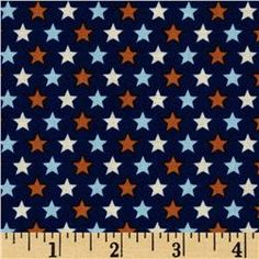 Riley Blake Rocket Age Stars Blue