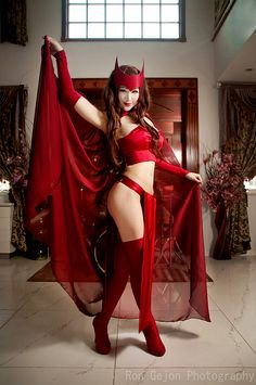 Ultimate Scarlet Witch byMostflogged.
