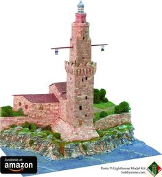 Porto Pi Lighthouse Model Kit #hobbystone #ho #hobby #hobbyist #hobbies #greatdeals #greatdeal #artstudent #crafts #crafty #crafter #craftwork #artsandcrafts #artandcraft #scalemodel #scalemodels #scalemodelsworld #modelkit #diorama #miniature #maquette #architecturelovers #architecturestudent #funfunfun #funtodo #buildingblocks #lego #3dpuzzle #hoscale #hoscaletrains