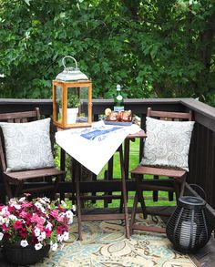 Summer is here and it's time to enjoy your outdoor space, get creative with your balcony!